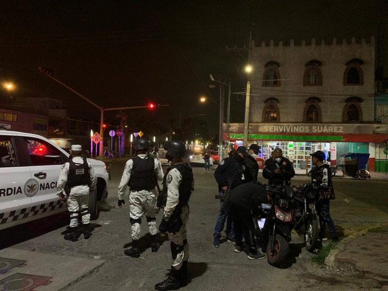 100 detenidos en el oriente del Edomex