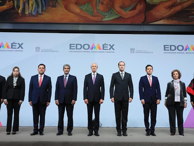Cambios en el gabinete del Estado de México