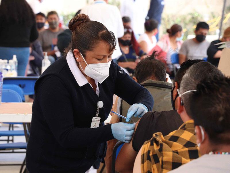 Iniciará nueva jornada de vacunación en Edomex