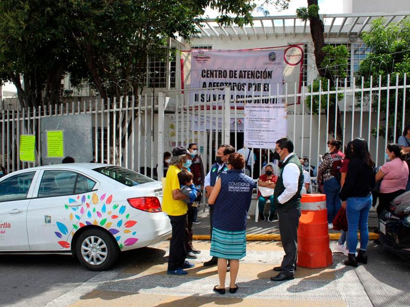 Cuidaremos derechos humanos de los damnificados en el Chiquihuite: CODHEM